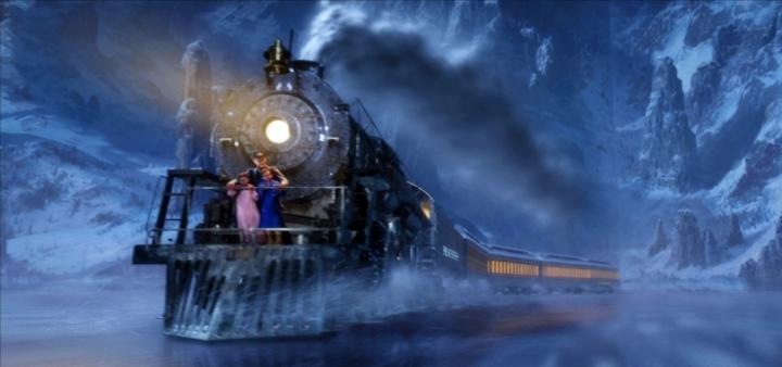 Мультфильм про поезд на новый год